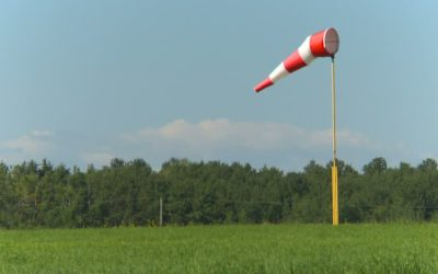 Determining wind direction – without a windsock
