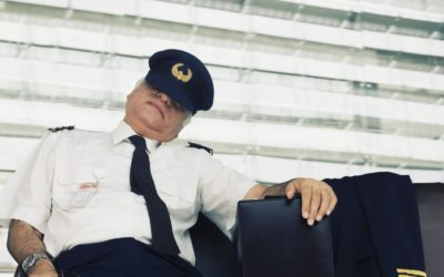Why sleeping more will improve your flying