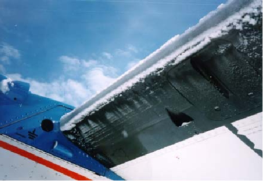 Will Flying Fast Prevent Airframe Icing?