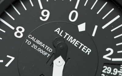 Understanding how a Pressure Altimeter works